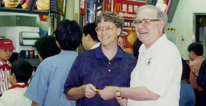 https://seekingalpha.com/instablog/45882266-superinvestor-bulletin/4962419-warren-buffett-bought-bill-gates-mcdonalds-lunch-using-coupons