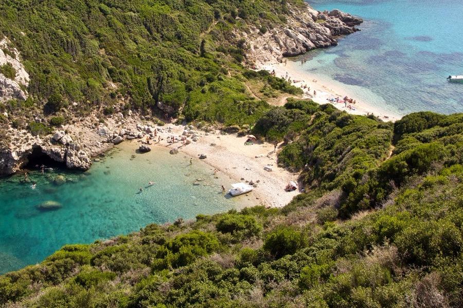 5 παραλίες της Κέρκυρας που είναι σαν παράδεισος