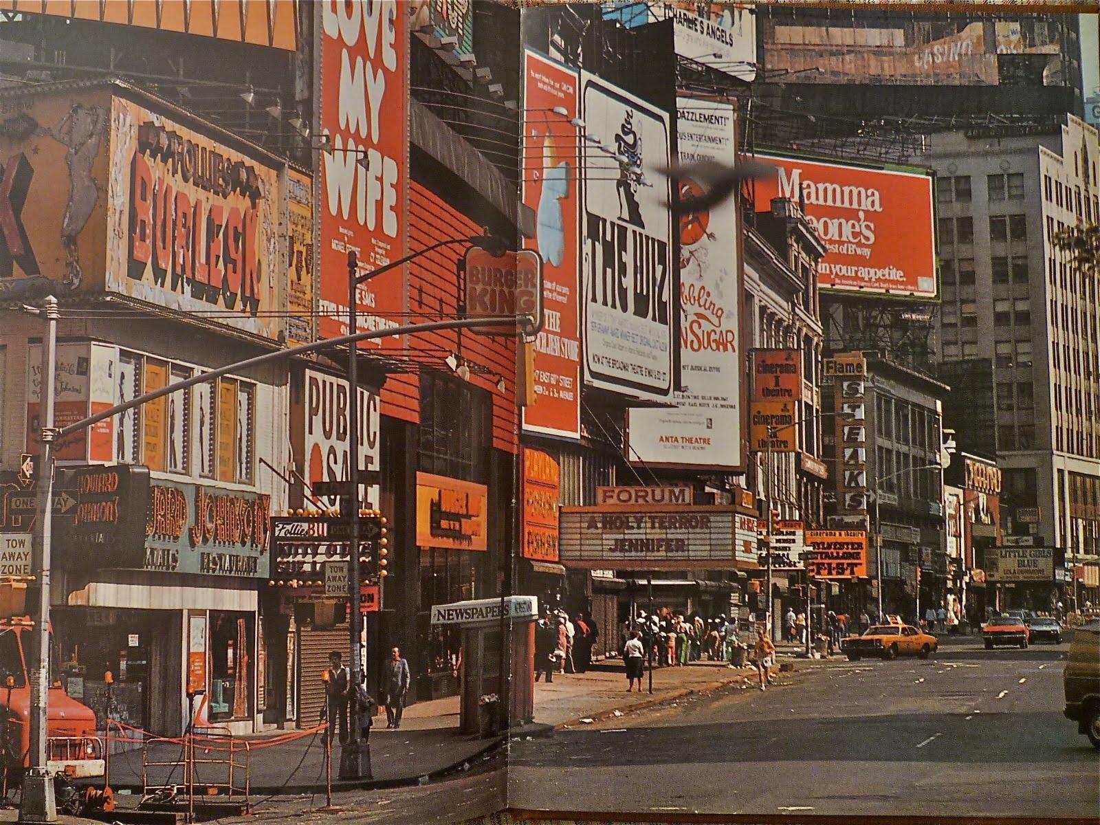 Η ιστορία της Times Square: Aπό πιάτσα για πόpνες, στο απόλυτο τουριστικό σημείο