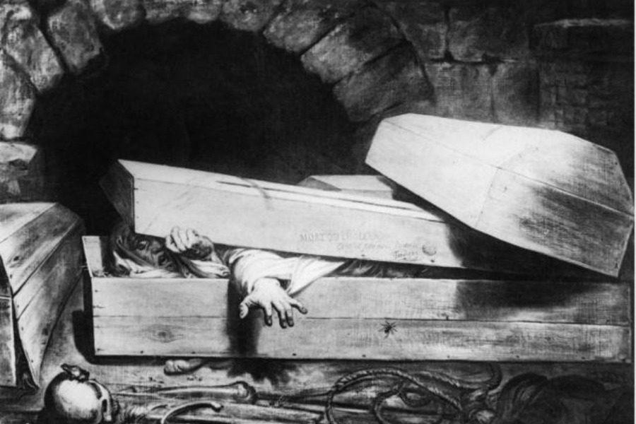 Η Γαλλίδα που θάφτηκε... δυο φορές!