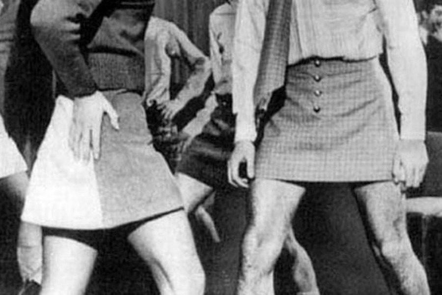 Η εταιρεία που προσπάθησε να ντύσει τους άνδρες με μίνι το 1960