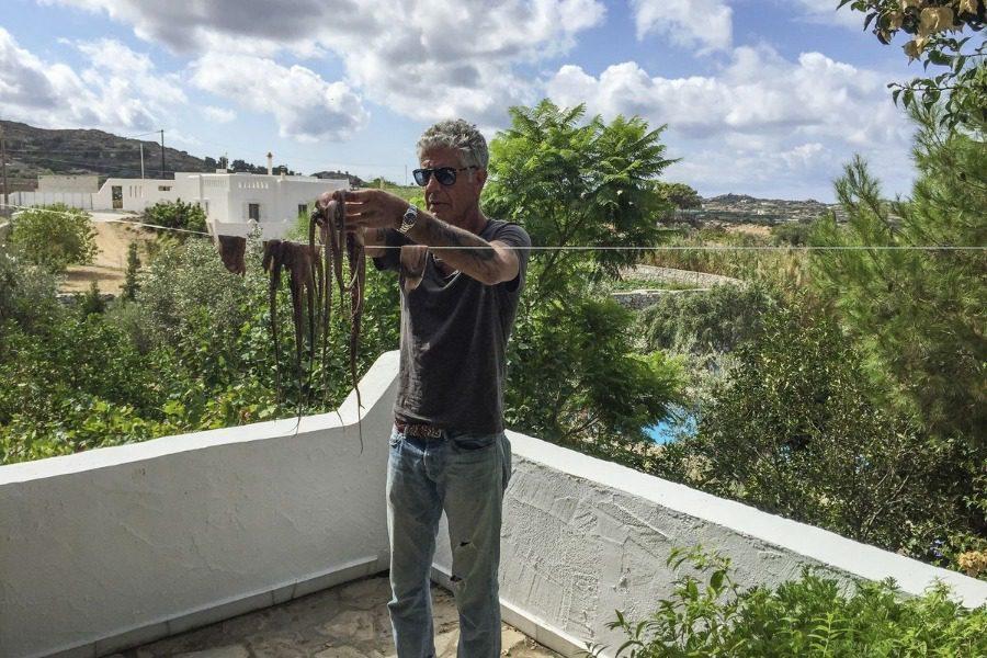 Όταν ο Anthony Bourdain ταξίδεψε στην Ελλάδα