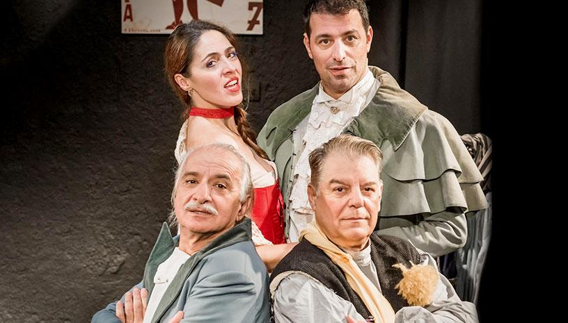 Η παράσταση «Βότκα..δηλητήριο» έρχεται στο Θέατρο Αννα Συνοδινού