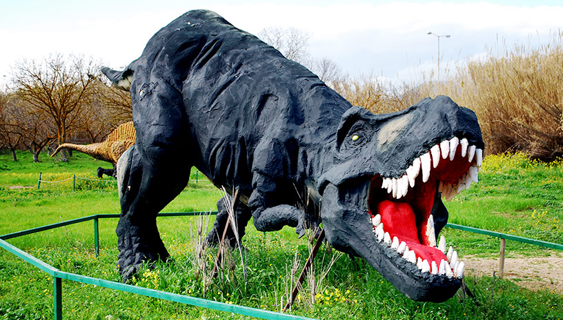 Το Πάρκο Δεινοσαύρων είναι ένα ταξίδι στην προ‑ιστορία